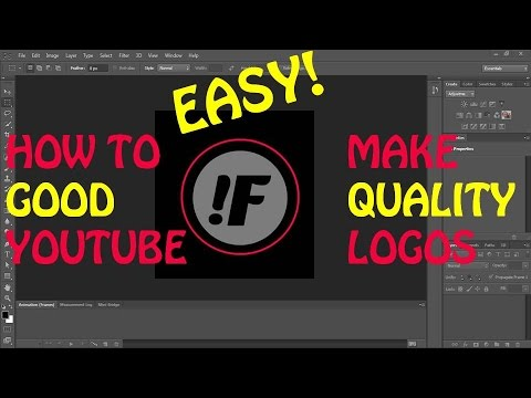 F How To Make Professional Logos For Your Youtube Channel
