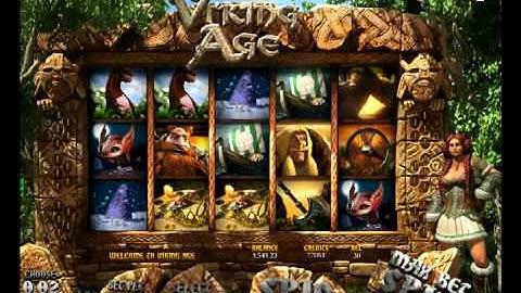 Vikings Age 3D video slot game