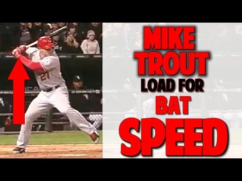 Mike Trout | How to Load for Crazy Bat Speed (Pro Speed Baseball)