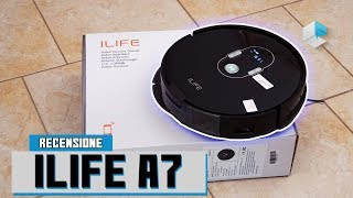 Recensione ILIFE A7 aspirapolvere robot tipo Roomba