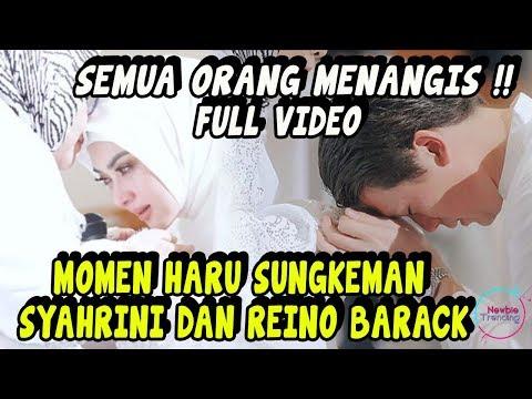 FULL VIDEO Suasana Haru Momen Sungkeman Syahrini & Reino Barack Sebelum Pernikahan