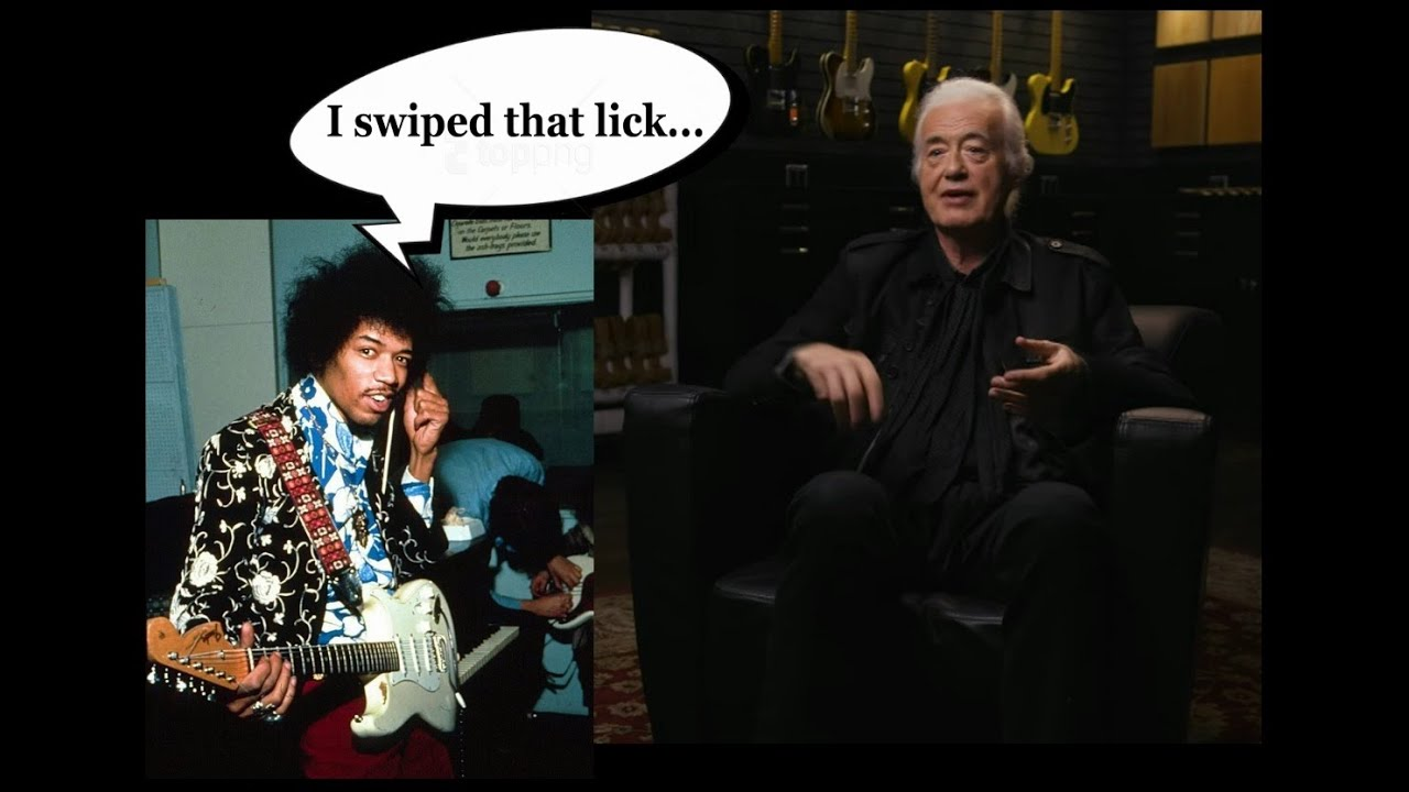 Did Jimi Hendrix nick a riff from Jimmy Page - story