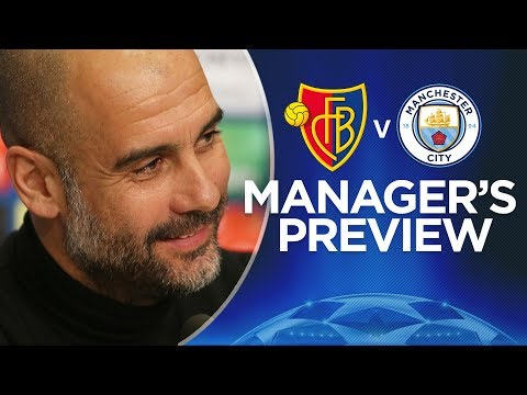 WE'LL IMPOSE OUR GAME | Pep Press Conference | Basel v City | Champions League 1st Leg