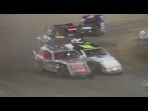 IMCA Sport Mod Iowa Donor Night feature Independence Motor Speedway 8/10/19