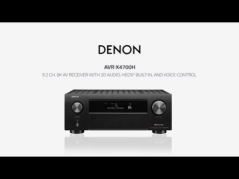 Denon — Introducing the AVR-X4700H AV Receiver