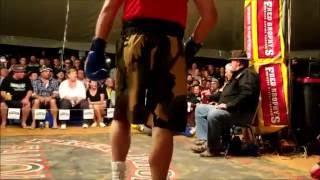 Darryl Burley' - 1st Round KO - Outback Fight Club - Birdsville 2015