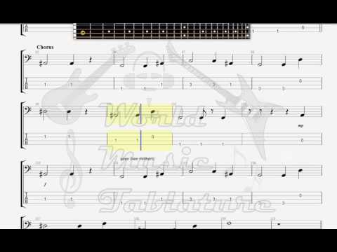 Dispatch The General Bass Guitar Tab Youtube
