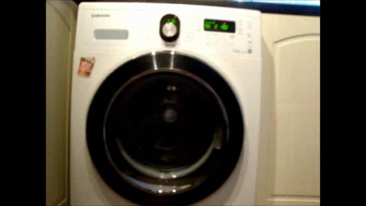 samsung wf8804rp washing machine drum cleaning main wash 1 4 youtube. Black Bedroom Furniture Sets. Home Design Ideas