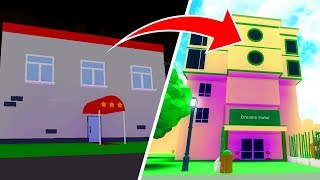 WE WILL BUILD THE BEST HOTEL!! -ROBLOX #343