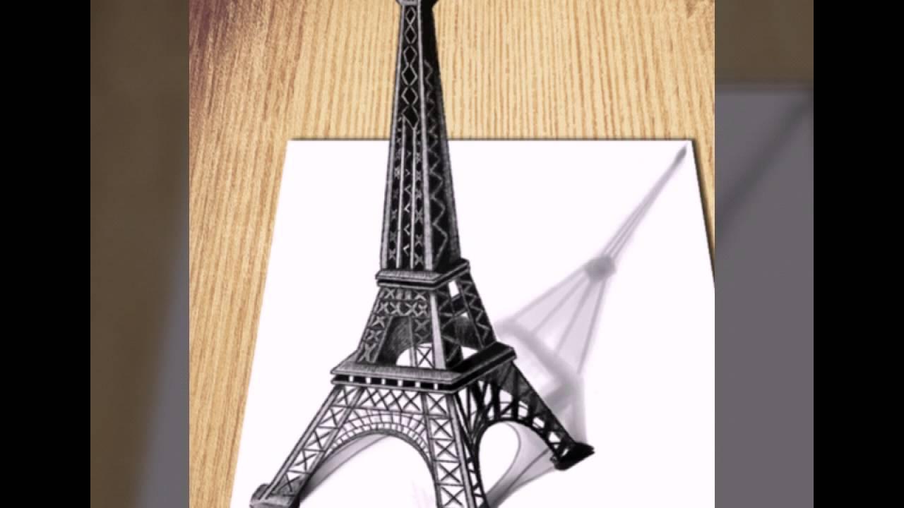 Hay !!! Hướng dẫn vẽ tháp Eiffel 3D