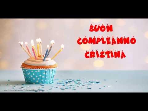 Buon Compleanno Cristina Youtube