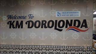 Melihat isi Kapal Pelni KM Dorolonda saat Mudik Lebaran 2018 (Full HD)