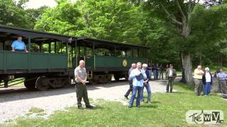 "The WV Presents ""GOLDEN CASS"" Cass Scenic Railroad 50th Anniversary Ceremony 2013 Runbys"