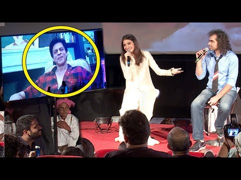 Shahrukh Khan's LIVE Chat With Anushkha Sharma At Jab Harry Met Sejal Trailer Launch Full Video HD