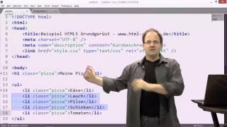 Sublime Text: HTML Editor mit Potential zur Zeitersparnis - http://www.HTML-Seminar.de