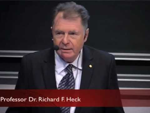 Nobel Laureate in chemistry Richard F. Heck – Nobel Lectures in Uppsala 2010