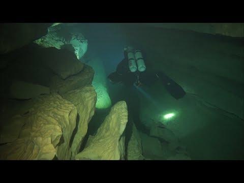 Cave Diving - France Lot | Höhlentauchen Frankreich ( Emergence du Ressel )