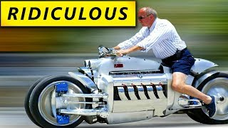 7 Most Oddball Motorcycles Ever Made