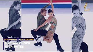 Американцы Мэдисон Чок и и Эван Бейтс получили премию ISU Skating Awards в номинации Лучший костюм