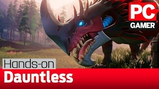 Dauntless gameplay and impressions — a Monster Hunter style game on PC