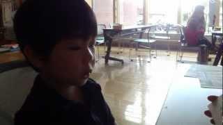 祈壱3歳2ヶ月。3歳児健診に行ってきました。