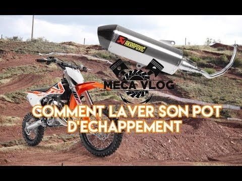 comment nettoyer son pot d 39 echappement ktm 65sx meca vlog 5 youtube. Black Bedroom Furniture Sets. Home Design Ideas