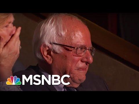 Bernie Sanders Tears Up As His Brother Nominates Him | Rachel Maddow | MSNBC
