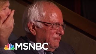 Bernie Sanders Tears Up As His Brother Nominates Him | Rachel Maddow | MSNBC