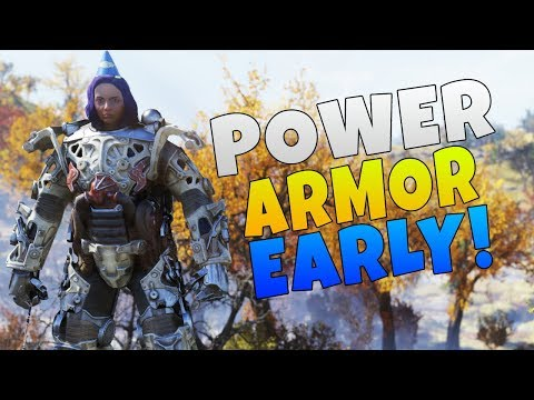 Fallout 76 How To Get Power Armor Early | Fallout 76 Guides
