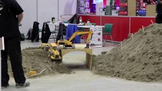 RC Construction Trucks! | Digger- more from Oslo Motor Show 2016