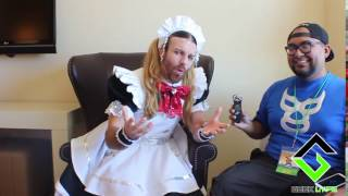 The wonderful and fantastic Lady beard talks about The Geek Lyfe to...
