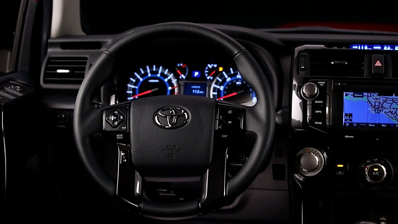 2014 Toyota 4runner Interior Youtube