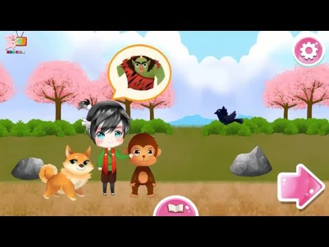 Heo Kids - Momotaro, Interactive Classic Japanese Fairytale || the giant peach