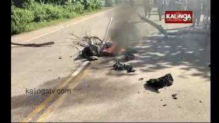 Jagatsinghpur: Class IX girl student died after being hit by truck on Ctc-Paradip road | Kalinga TV