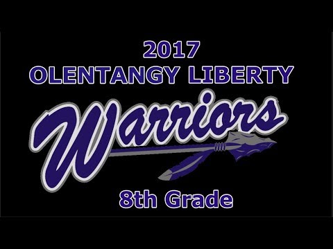 2017 Olentangy Liberty Middle School Warriors 8th Grade Football Highlights