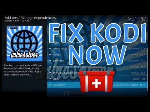 KODI URL RESOLVER FIX 2018: PROBLEMS WITH ADDONS NOT PLAYING? (FIX GUIDE  ALL DEVICES 2018)