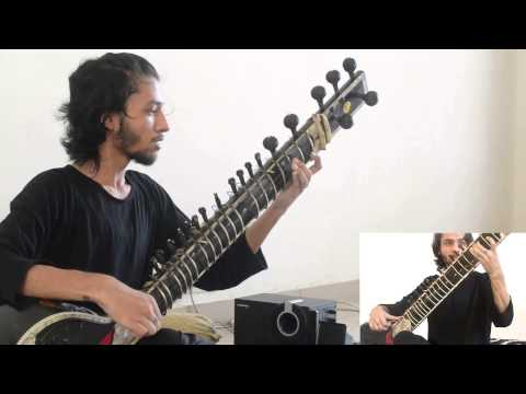 Animals As Leaders - Tempting Time - Sitar Cover