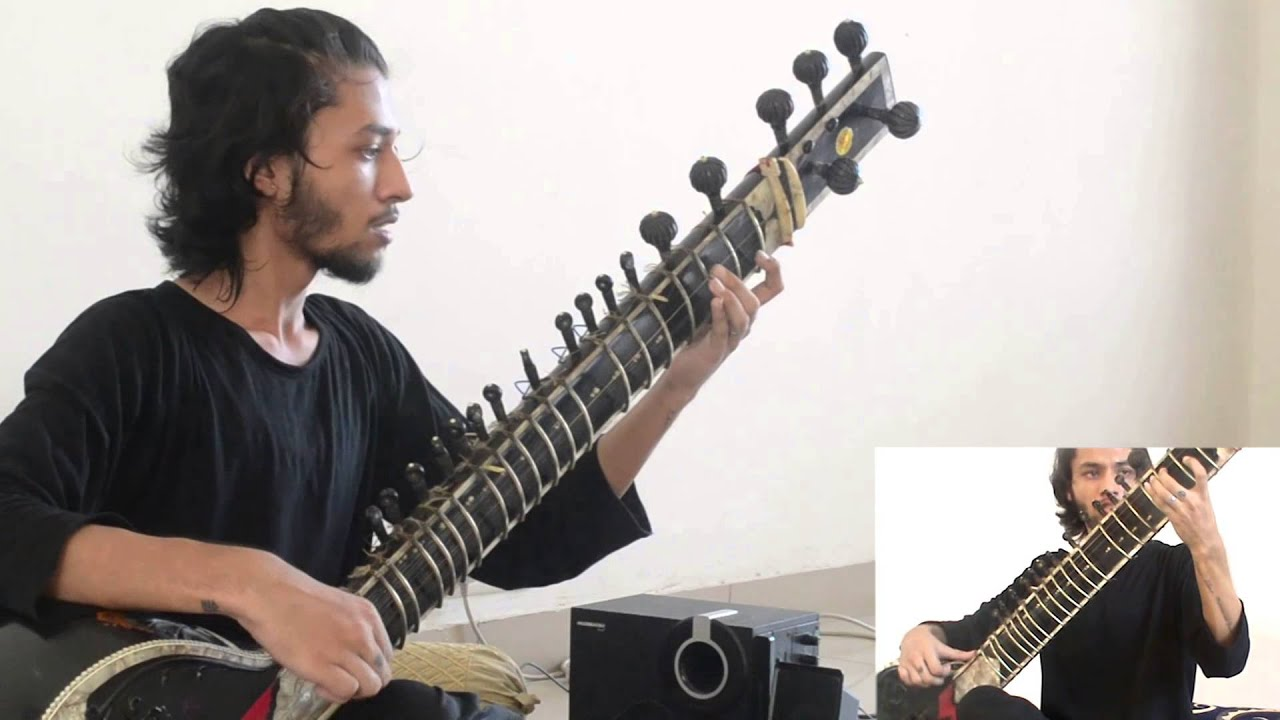 animals as leaders tempting time sitar cover youtube