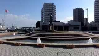 2014.Jan.13 三笠公園(神奈川県横須賀市)円形噴水池 The Circular Fou...