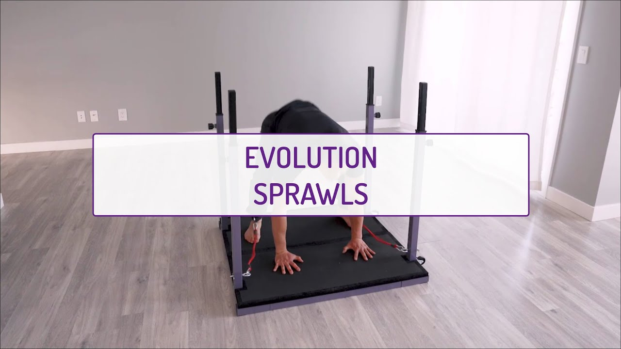 Home Exercises | Evolution Sprawls | Cardio & Strength | Legs & Abs
