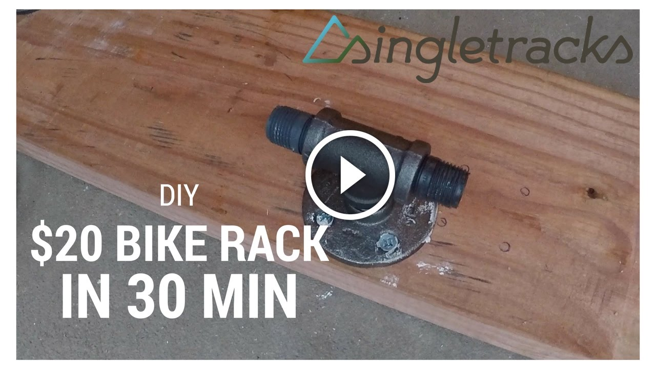 Diy How To Build A Fork Mount Bike Rack For 20 In 30