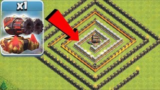 ULTIMATE CANNON MAZE 2| Clash Of Clans | YOU WON'T WIN THIS!!