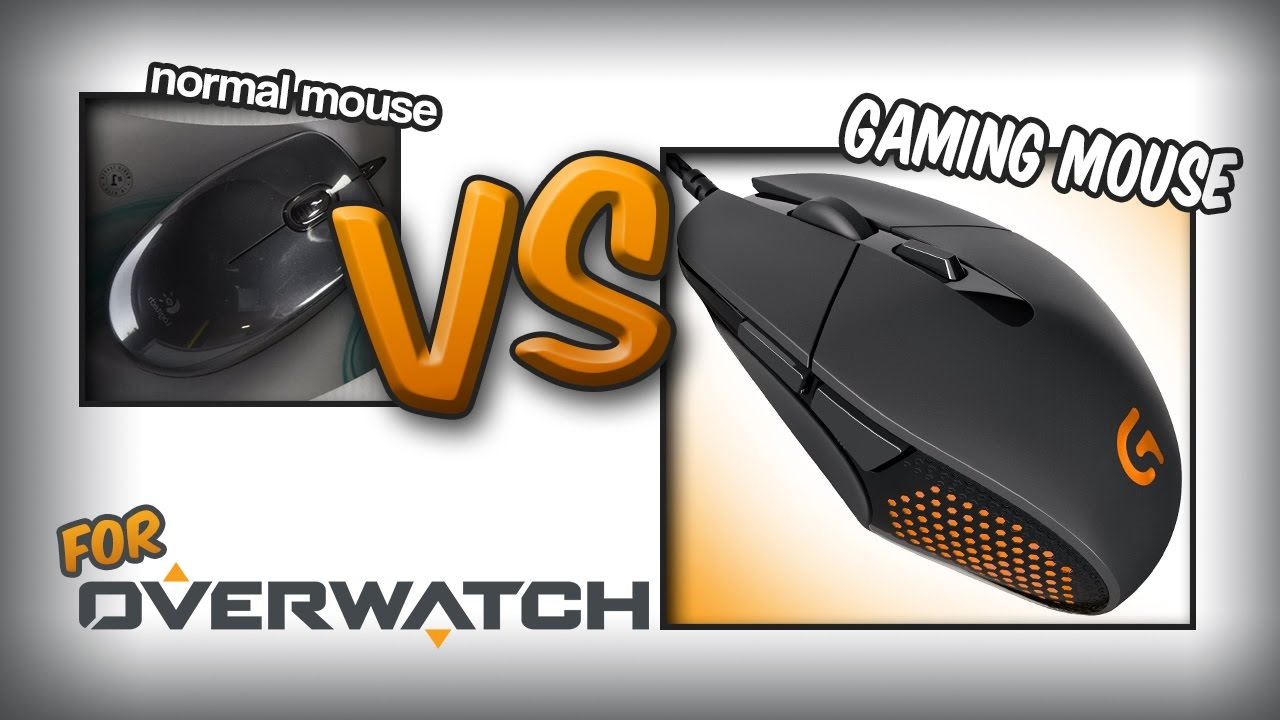 gaming mouse vs non gaming mouse