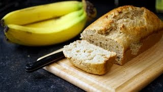 Recipe: Peanut Butter Protein Banana Bread  CutAndJacked.com