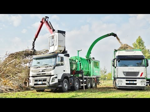HACKERTRUCK | Volvo FMX 500 + Pezzolato PTH 1400/1000 CAT C18 Engine | DE LUCA BIOMASSE