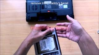ACER Aspire 4750 - Adding Hard Disk via 2nd HDD Caddy, Remove Optical Drive