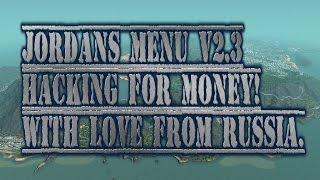 Jordans menu 1.7 for GTAV [v.1.34] Hacking for money! | Взлом денег!