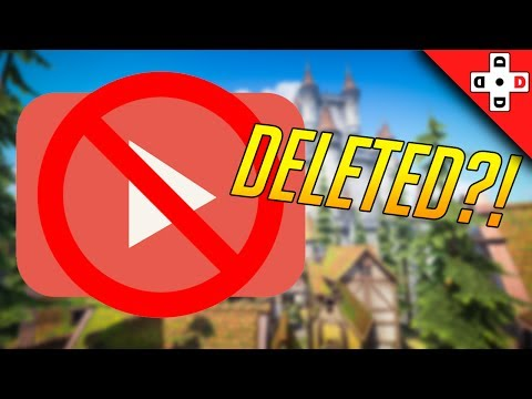 Youtube DELETED My Second Channel!