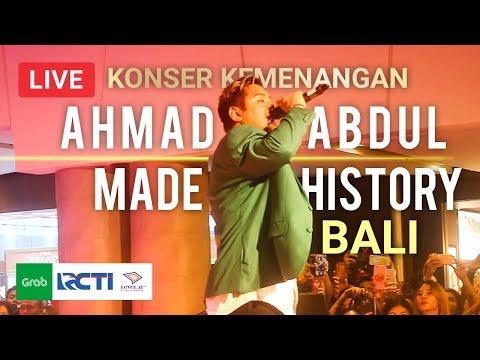 PECAH #2! Abdul Bikin History di Konser Kemenangan (One Direction)