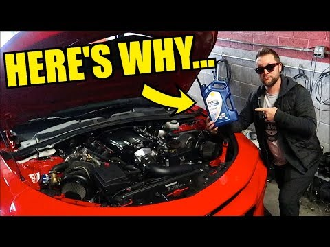 Putting Diesel Engine Oil In My Camaro!?